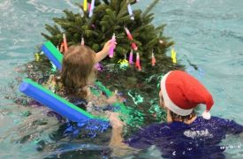 Underwater Christmas Tree Parties